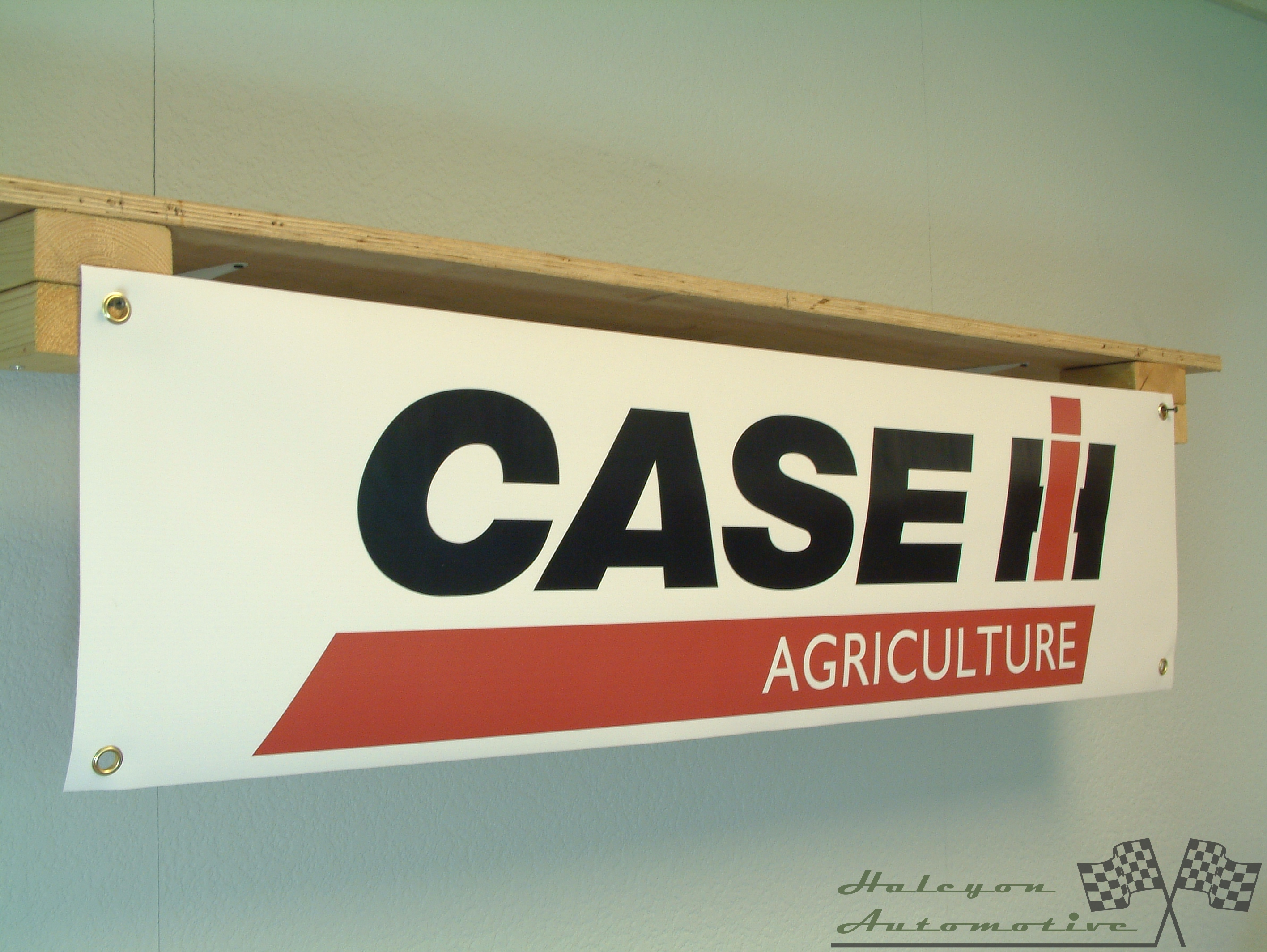 Minneapolis Moline Tractor Banner for workshop Barn pvc sign